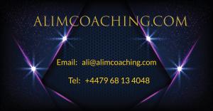 Ali M Coaching - contact details