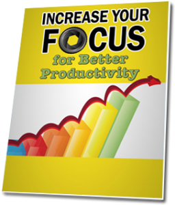 Ebook - Increase your focus for better productivity