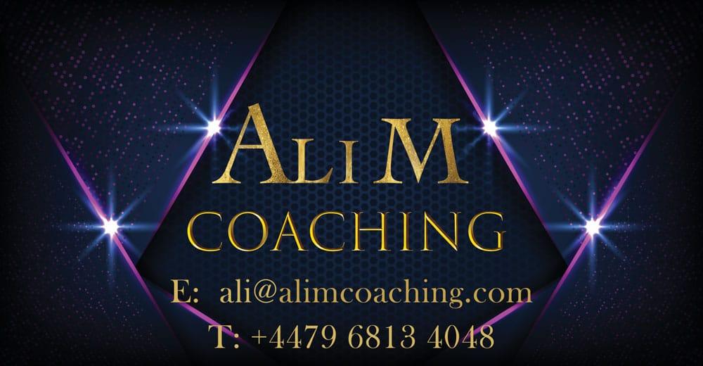 Ali M Coaching Contact Details