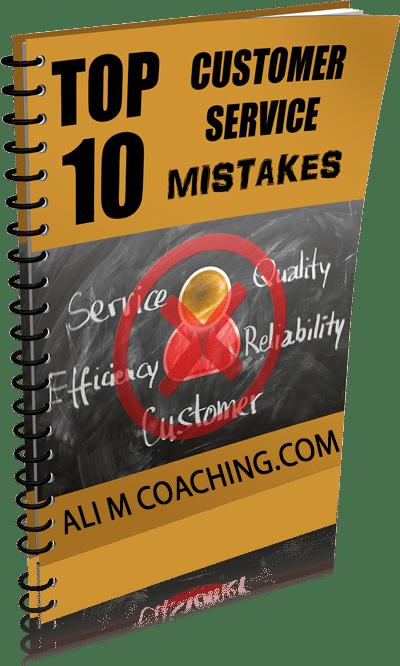 Top 10 Customer Service Mistakes Ebook